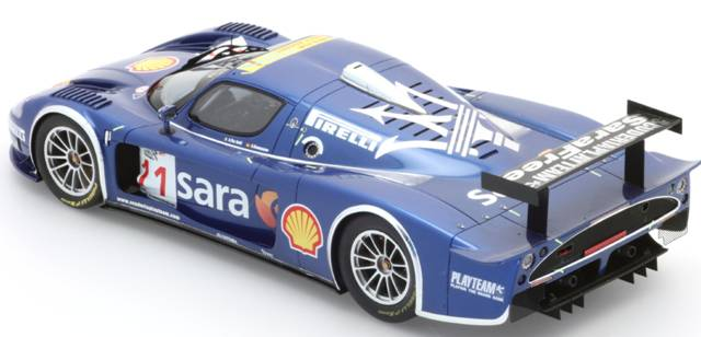 BBR Models: 2007 Maserati MC12 GT FIA Italia 'Playteam' (P1807) im 1:18 maßstab . Picture provided by Alex, 2010-01-26 10:13:45