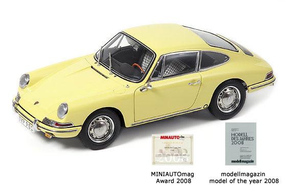 CMC: 1964 Porsche 911 - Champaign Yellow (M-067A) in 1:18 ...
