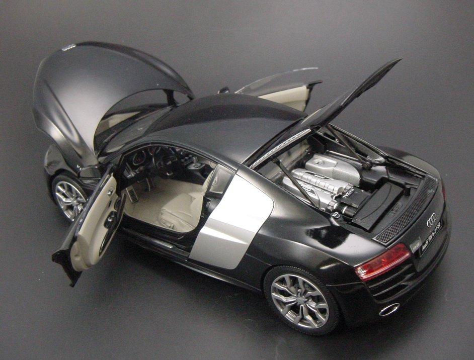 Kyosho 2009 Audi R8 V10 5 2 Fsi Black Metallic 09216bk