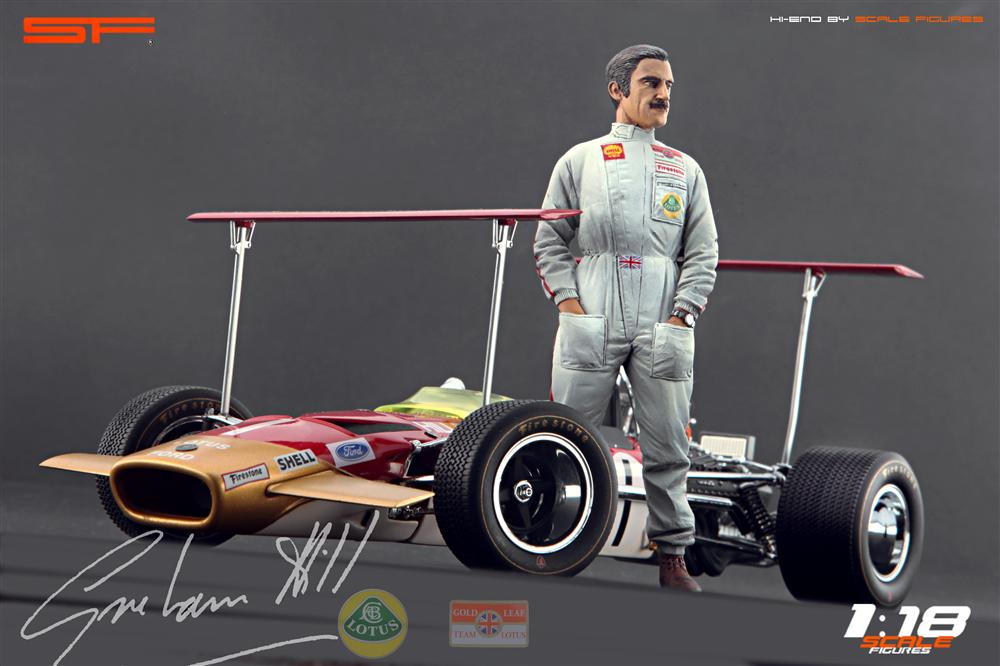 Scale Figures: Graham Hill Figure (SF118023) in 1:18 scale . Picture provided by Alex, 2012-10-19 10:32:55