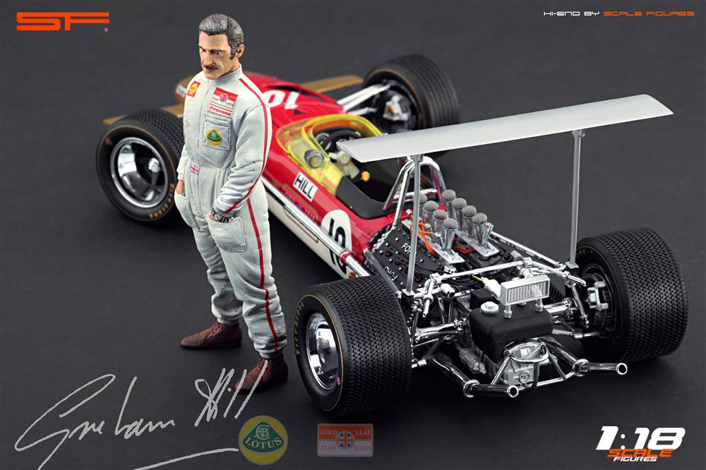 Scale Figures: Graham Hill Figure (SF118023) in 1:18 scale . Picture provided by Alex, 2012-10-19 10:33:05