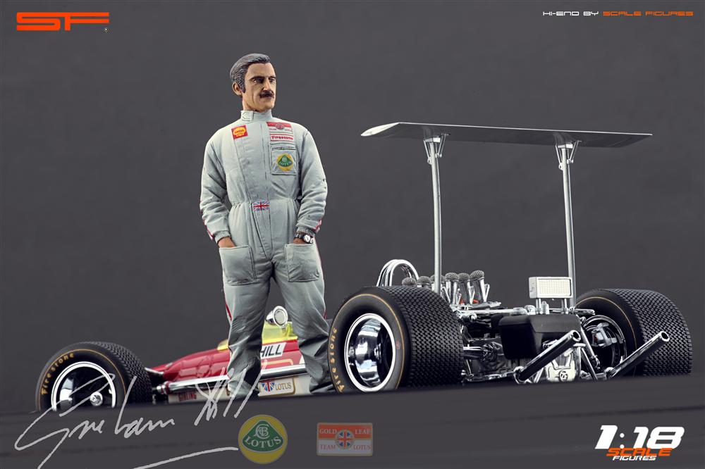 Scale Figures: Graham Hill Figure (SF118023) in 1:18 scale . Picture provided by Alex, 2012-10-19 10:33:21