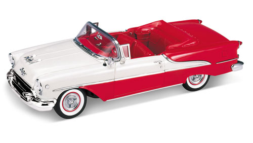 Welly: 1955 Oldsmobile Super 88 - Red (9869) im 1:18 maßstab