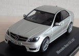 Schuco: Mercedes-Benz C63 AMG (W204) - Iridium Silver (B6 696 0088) in 1:43 scale . Picture provided by Vladimir, 2019-03-01 00:22:29