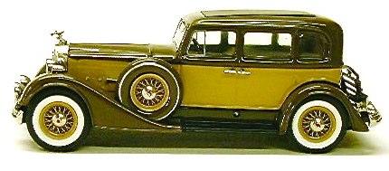 Minimarque 1934 Packard Super 8 Sedan Brown Cream