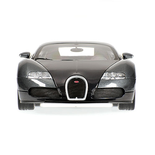 Minichamps: 2010 Bugatti Veyron - Black/Grey (100 110820) im 1:18 maßstab . Picture provided by Anton, 2011-04-24 03:05:25