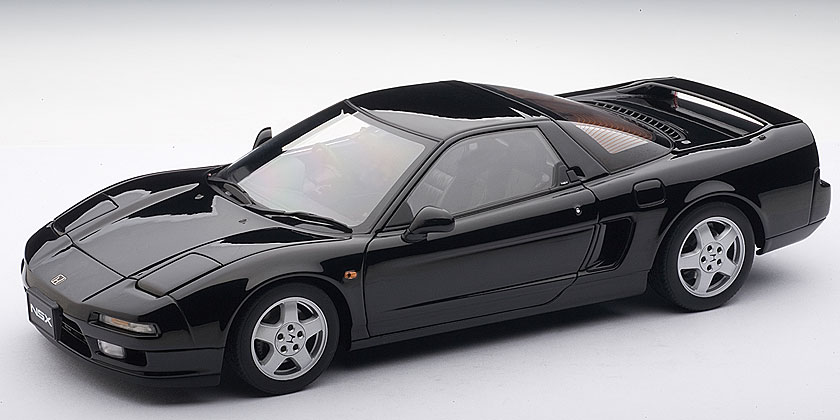 autoart 1990 honda nsx berlina black 73273 in 1 18 scale mdiecast. Black Bedroom Furniture Sets. Home Design Ideas