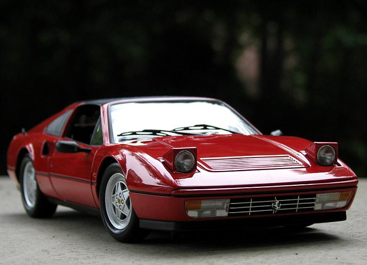 kyosho 1988 ferrari 328 gts red 08185r in 1 18 scale mdiecast. Black Bedroom Furniture Sets. Home Design Ideas