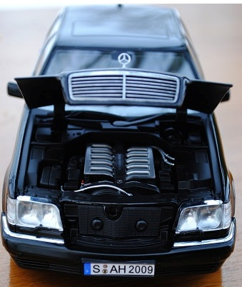 Norev Mercedes Benz S600 W140 In 1 18 Scale Mdiecast