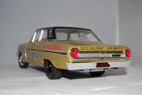 ACME: Pro Stock 1964 Ford Thunderbolt Bob Ford - Len Richter (a1801104) in 1:18 scale