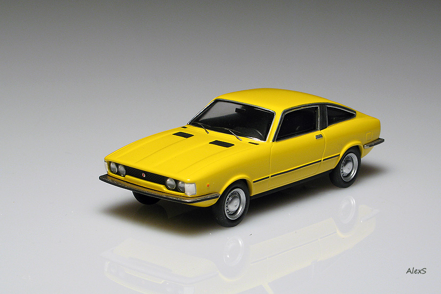 List Of Cars >> EMC: 1972 Fiat 128 Moretti Coupe in 1:43 scale - mDiecast