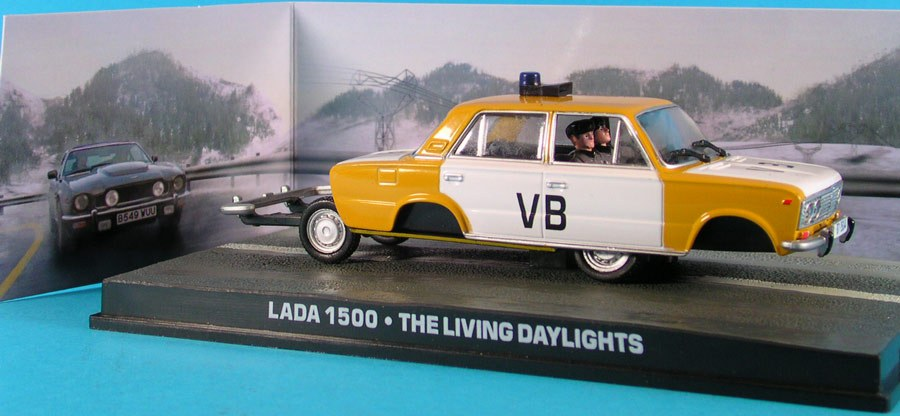 Universal Hobbies: VAZ-2103 Lada 1500 Bond 007 #26 in 1:43 scale . Picture provided by Andrey, 2008-10-02 08:23:19