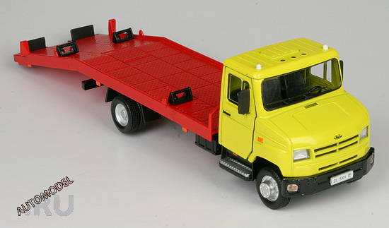 Bauer: ZiL 5301 Towing Truck in 1:43 scale - mDiecast