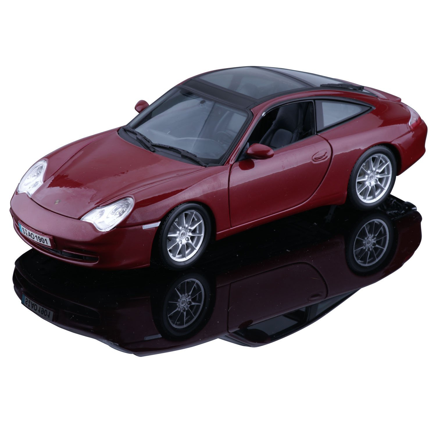 maisto 2002 porsche 911 996 targa red 31627 in 1 18 scale mdiecast. Black Bedroom Furniture Sets. Home Design Ideas