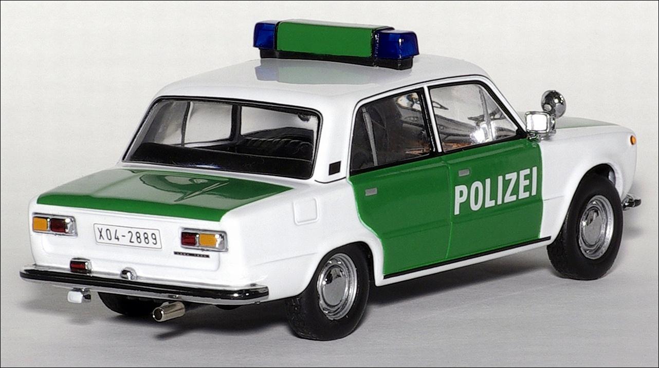IXO: 1973 Lada 1200 German Polizei - Green and White ...