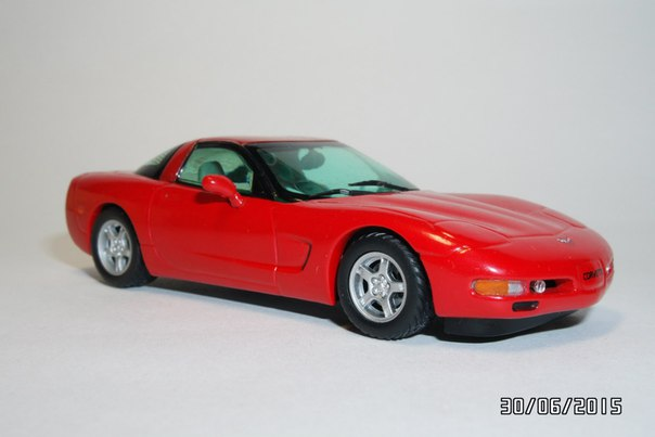 Matchbox: 1997 Chevrolet Corvette Coupe (CCV04-M) im 1:43 maßstab . Picture provided by George, 2015-11-08 06:07:17