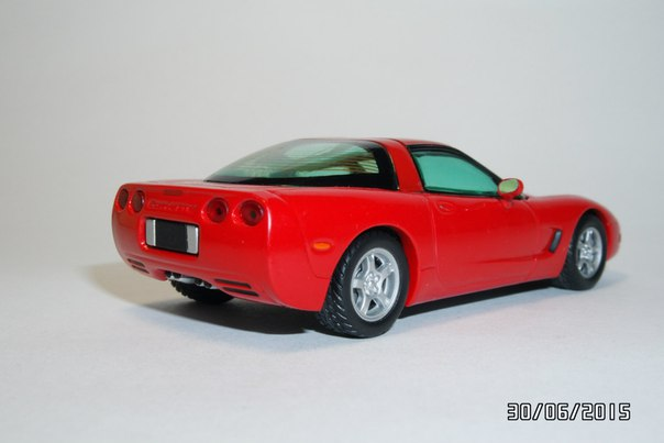 Matchbox: 1997 Chevrolet Corvette Coupe (CCV04-M) im 1:43 maßstab . Picture provided by George, 2015-11-08 06:07:45