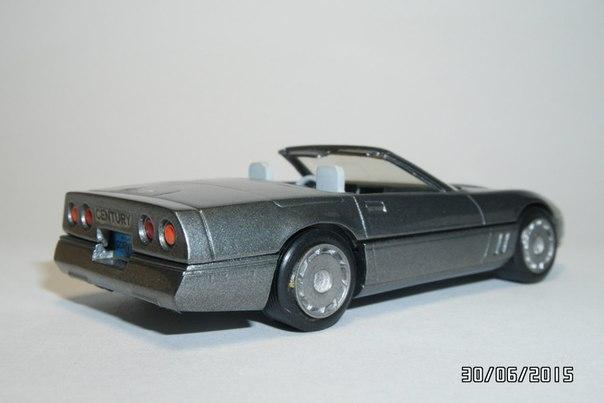 century 1984 chevrolet corvette c4 convertible im 1 43 ma stab mdiecast. Black Bedroom Furniture Sets. Home Design Ideas