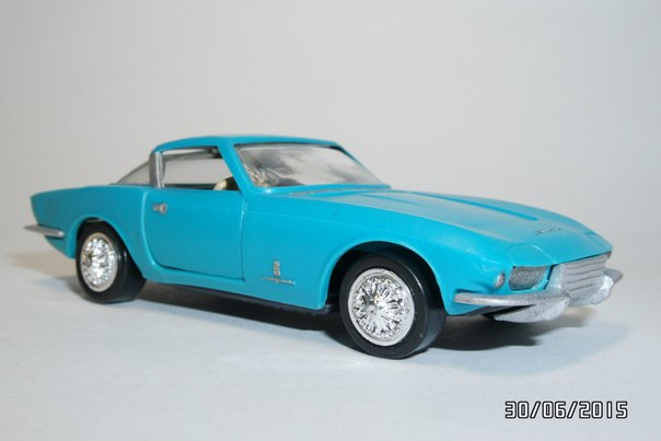 A Model: 1963 CHEVROLET Rondine Pininfarina A-22 (A - 22) in 1:43 scale