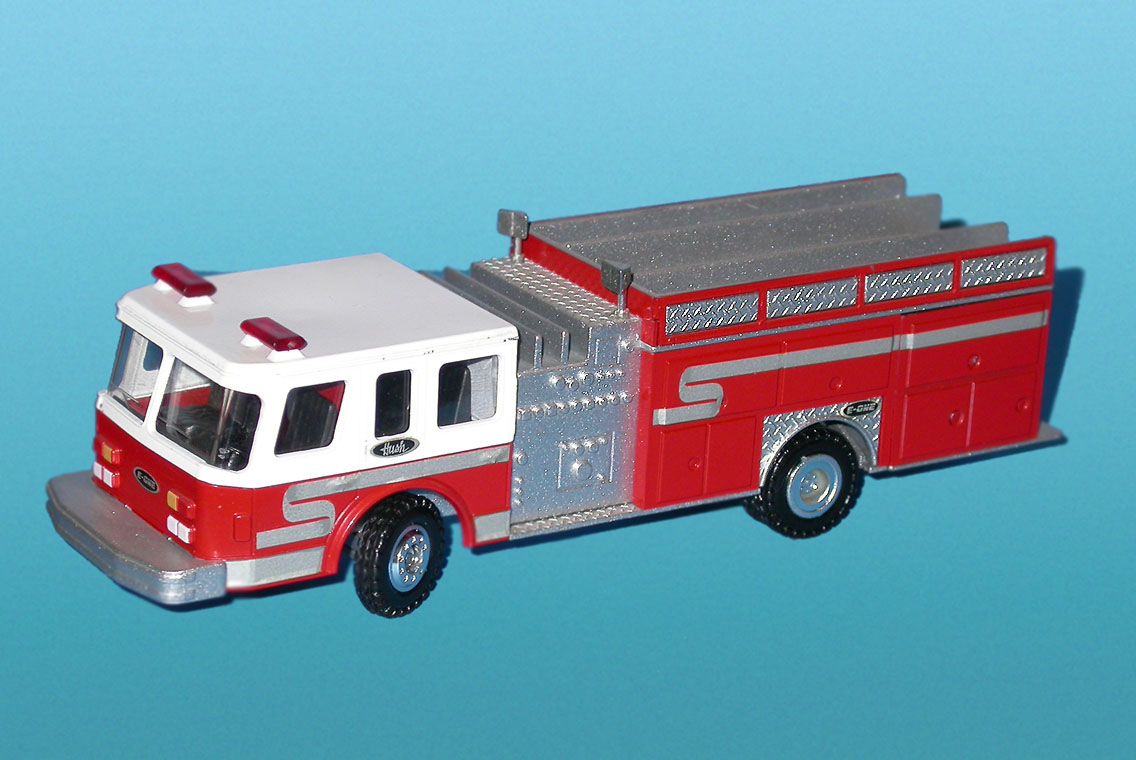 Conrad: Emergency One - Hush Fire Pumper (5510) in 1:50 scale . Picture provided by Mauro, 2008-03-31 16:38:22