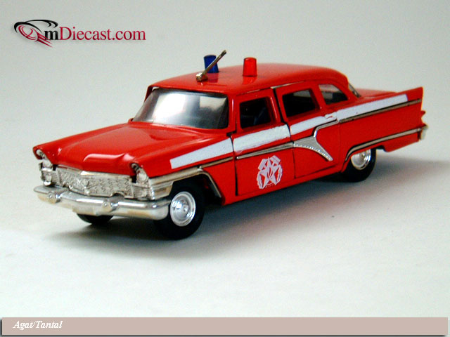 Agat/Tantal: GAZ 13 Chaika Fire Red in 1:43 scale