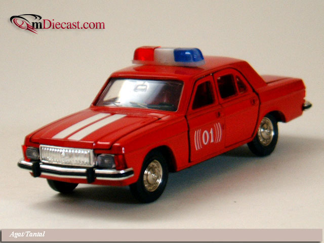 GAZ 3102 Volga Fire Type 2 Red (Agat/Tantal) 1:43