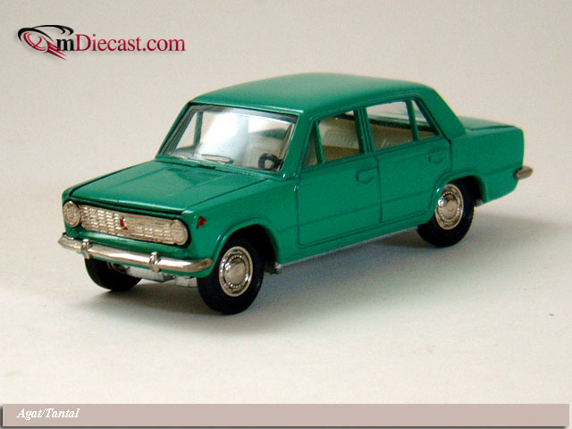 Agat/Tantal: VAZ 2101 - Green (A9) in 1:43 scale
