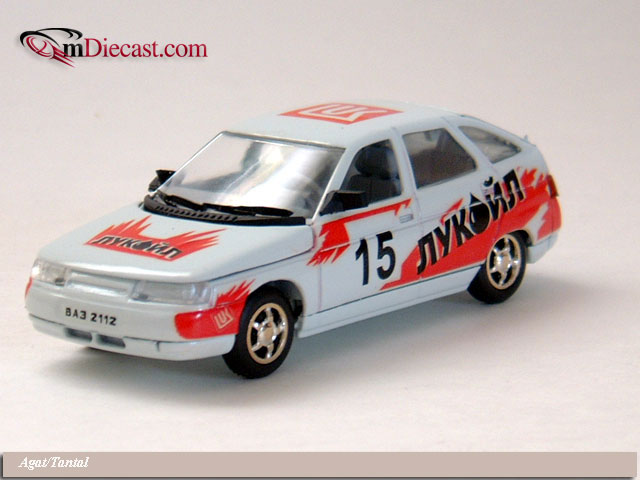Agat/Tantal: VAZ 2112 LukOil Racing - Red in 1:43 scale