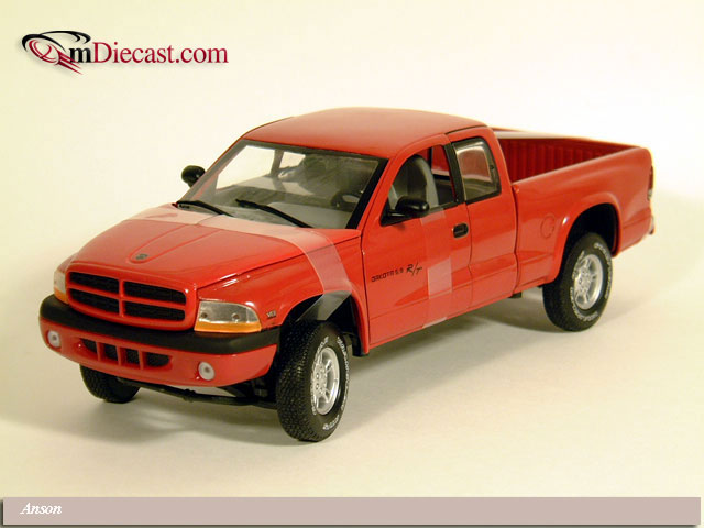 Anson: 1995 Dodge Ram Dually 3500 Pickup Truck - Red (30319) in 1:18 scale
