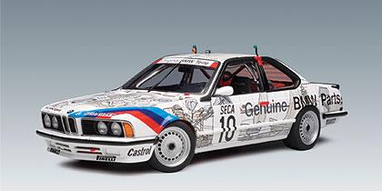 autoart 1986 bmw 635 csi group a racing 39 original teile. Black Bedroom Furniture Sets. Home Design Ideas