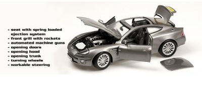 Beanstalk Group: Aston Martin Vanquish-James Bond, Die Another Day (10011) в 1:18 масштабе