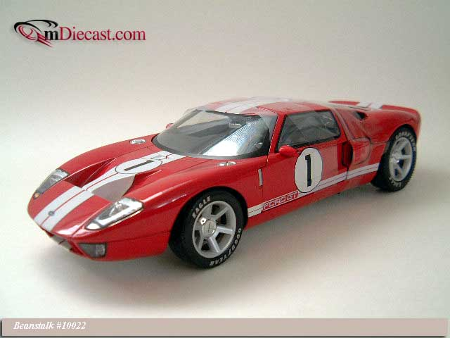 Beanstalk Group: 2003 Ford GT40 Concept Car Red (10022) in 1:18 scale