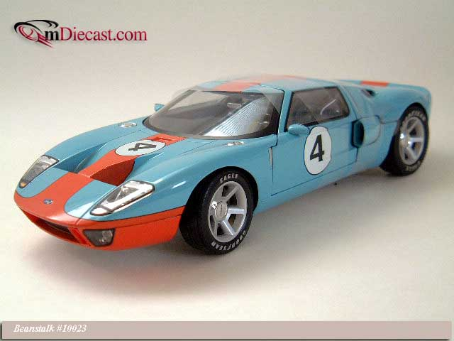 Beanstalk Group: 2003 Ford GT40 Concept Car Light Blue (10023) in 1:18 scale
