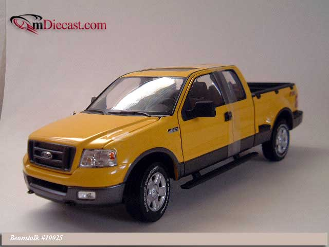 Beanstalk Group: 2004 Ford F150 FX4 Pickup Truck - Yellow (10025) im 1:18 maßstab