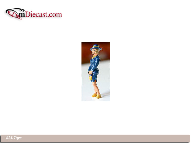 BM-Toys: Business Woman - Blue Suit (201B) in 1:43 scale