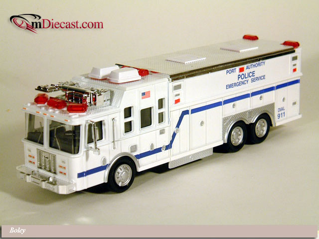 List Of Cars >> Boley: Port Authority Police Emergency Service Bus White ...