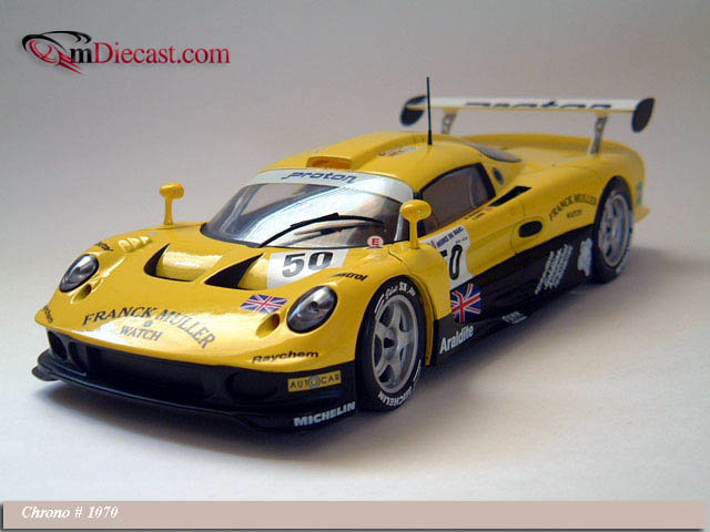 chrono 1997 lotus elise gt1 50 1070 in 1 18 scale mdiecast. Black Bedroom Furniture Sets. Home Design Ideas