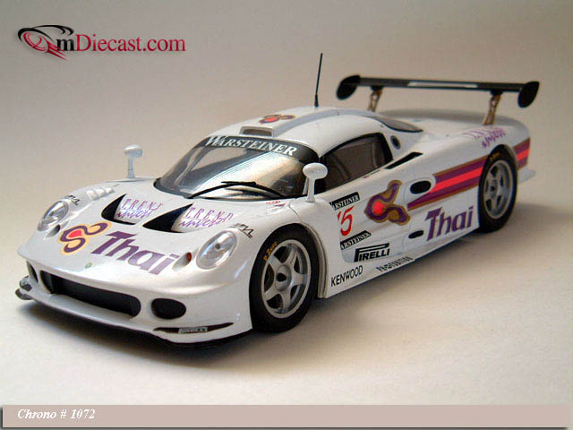 Chrono: 1997 Lotus Elise GT1 #15 Thai Prutirat , R (1072) in 1:18 scale
