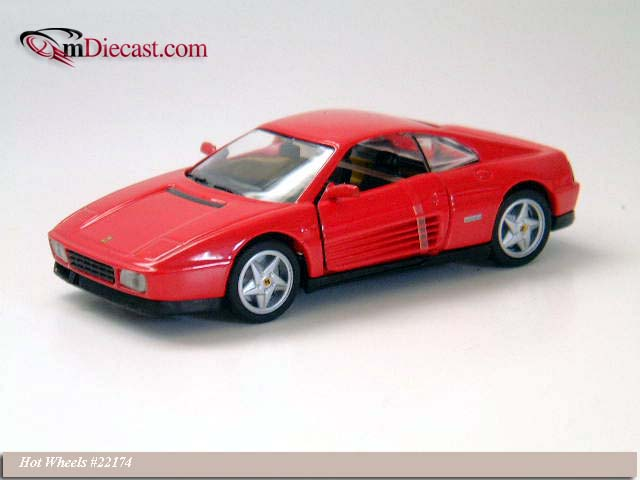Hot Wheels: 1989 Ferrari 348 TB (22174) in 1:43 scale - mDiecast