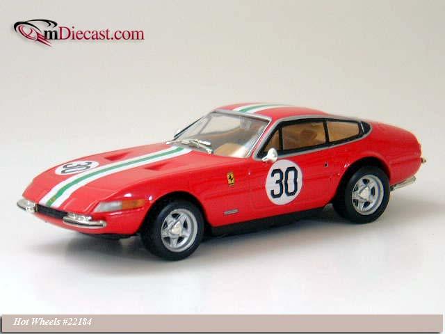 Hot Wheels: 1968 Ferrari Daytona 365 GTB/4 #30 (22184) in 1:43 scale