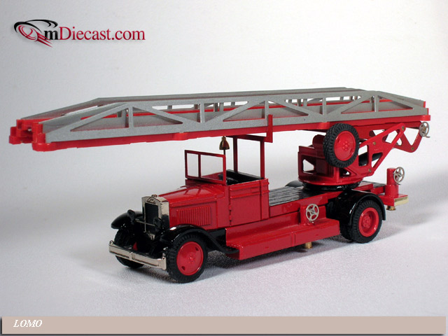 Lomo Lgo Fire Escape Ladder On Zis 11 Chassis 510 In 1