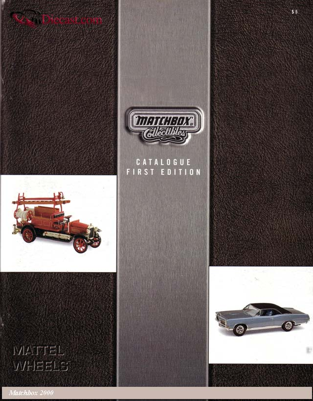 Matchbox: Matchbox Collectibles Catalog First Edition 2000 in  scale