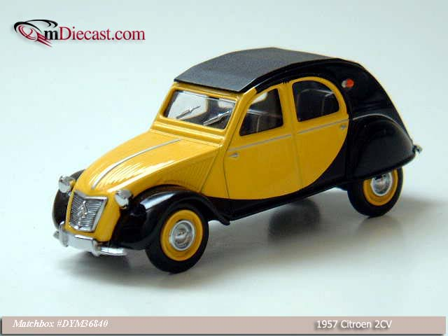 Matchbox: 1957 Citroen 2CV (DYM36840) in 1:43 scale