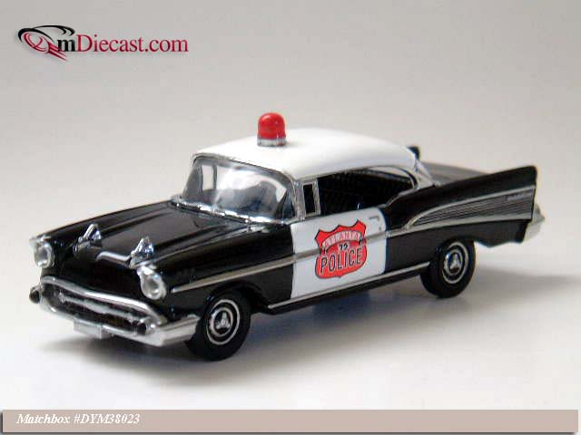 Matchbox: 1957 Chevrolet Bel Air - Atlanta (DYM38023) im 1:43 maßstab