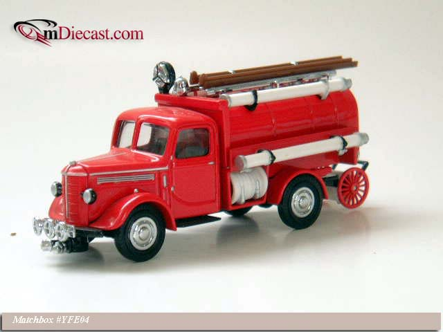 Matchbox: 1939 Bedford Tanker Truck (YFE04-M) in 1:43 scale