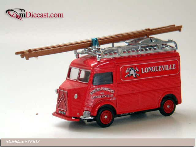 Matchbox: 1947 Citroen (YFE13-M) в 1:43 масштабе