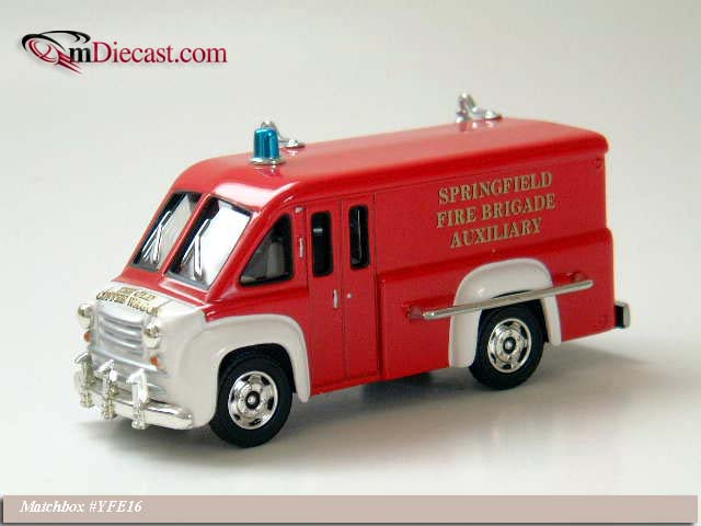 Matchbox: 1948 Dodge Route Canteen (YFE16-M) im 1:43 maßstab