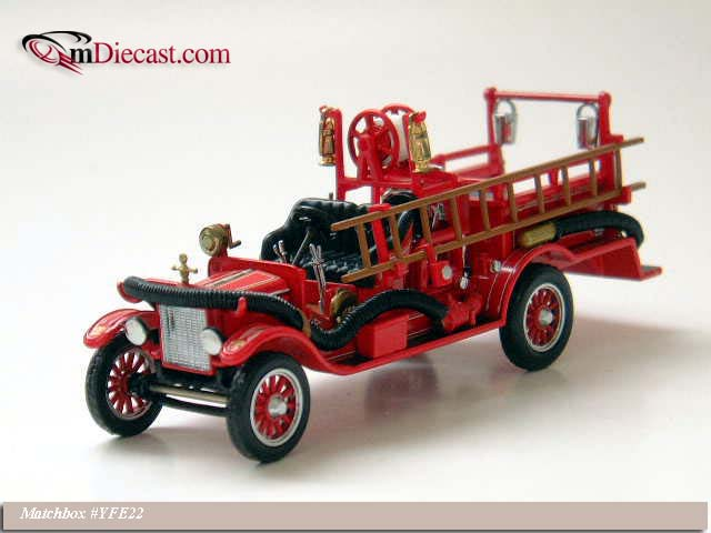 Matchbox: 1916 Ford Model T (YFE22-M) в 1:43 масштабе