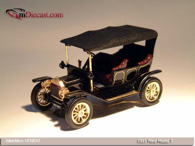 Matchbox: 1911 Ford Model T (YMS01) im 1:43 maßstab