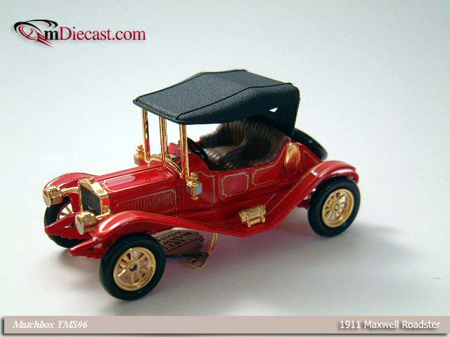 Matchbox: 1911 Maxwell Roadster (YMS06) in 1:43 scale